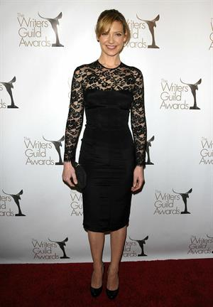 Anna Torv attends Writers Guild Awards in Hollywood on February 5, 2011
