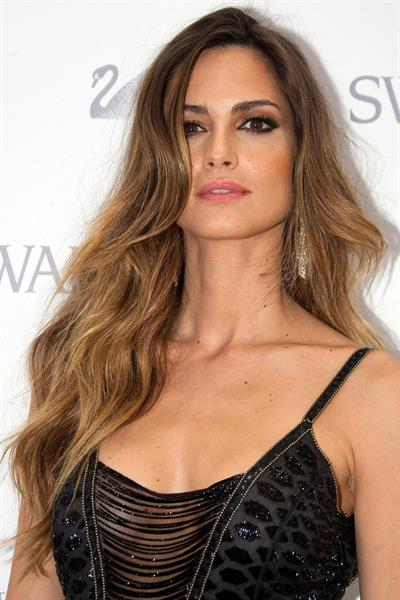 Ariadne Artiles Swarovski New Boutique Opening photocall on May 27, 2010 in Madrid Spain
