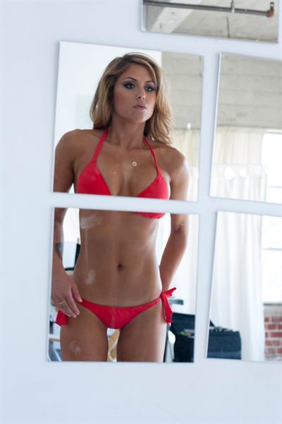 Brittney Palmer Inside Fitness photoshoot July 2012