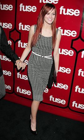 Ashlee Simpson Fuse TV's Grammy party arrivals