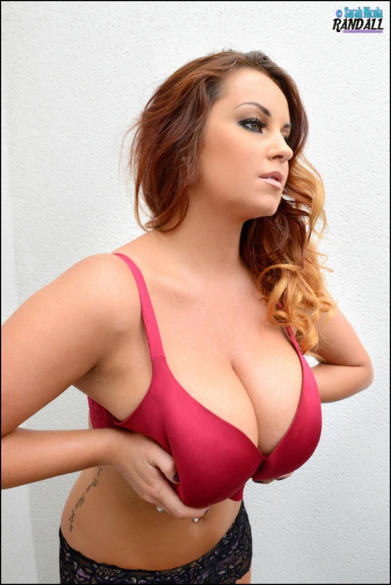 Sarah Nicola Randall has amazing big boobs