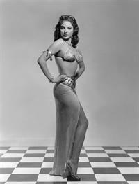 Joan Collins in a bikini