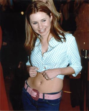 """Beverley Mitchell – """"The Meican"""" LA Premiere 2/23/01"""