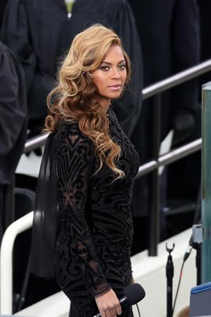 Beyonce Knowles Barack Obama's inauguration ceremonies-Jan 21, 2013
