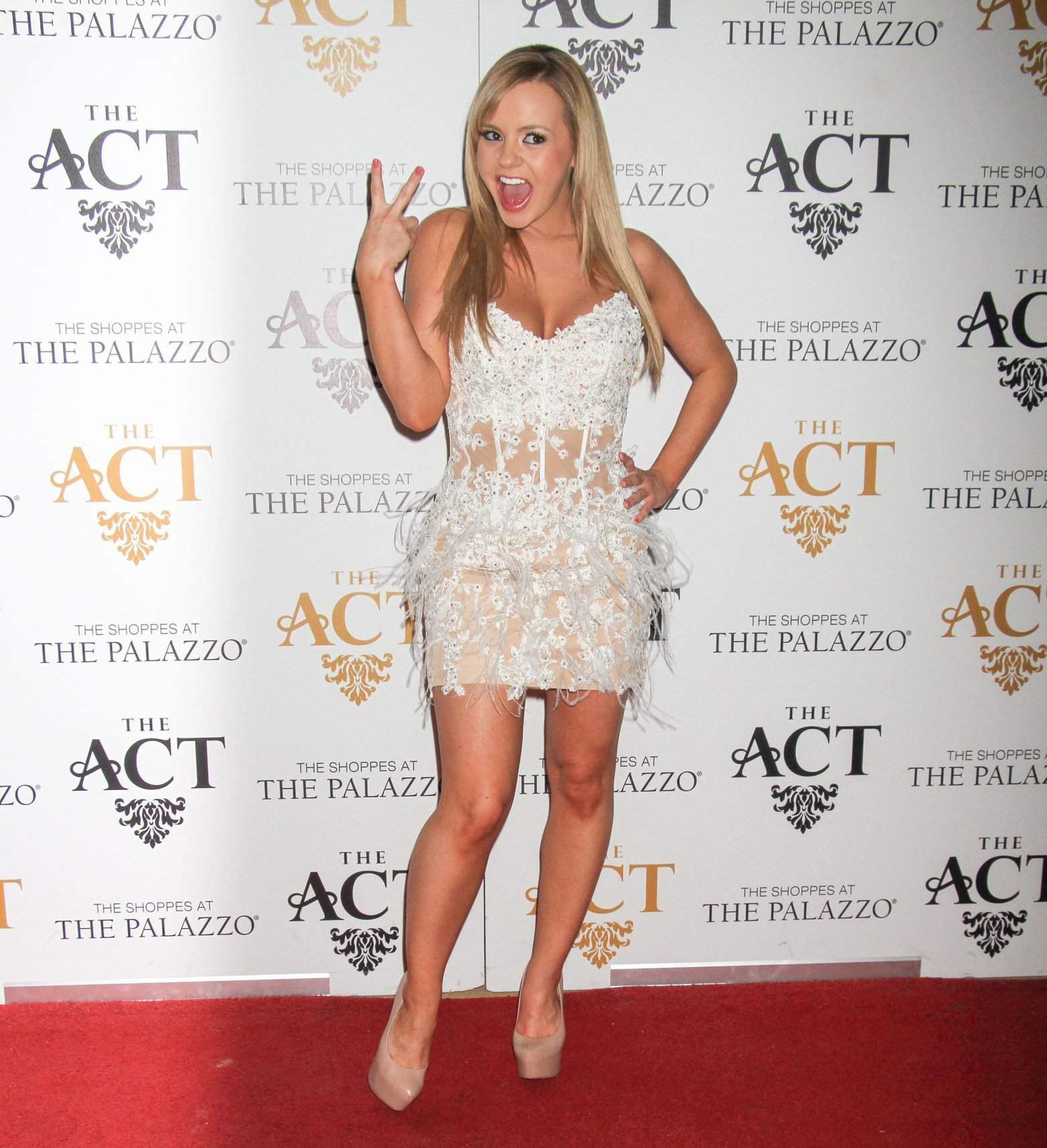 Bree Olson hosts AVN Friday at The Act night club in Las Vegas - Jan. 18, 2013