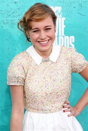Brie Larson - MTV Movie Awards at Universal Studios, Arrivals - June 3 2012