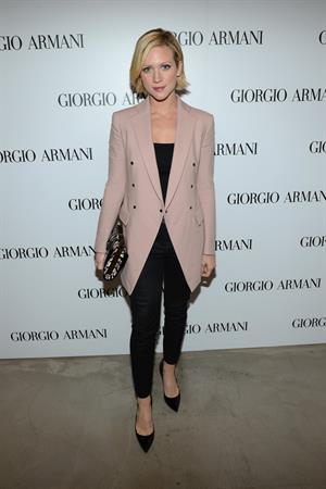 Brittany Snow Giorgio Armani Beauty Luncheon, Dec 6, 2012
