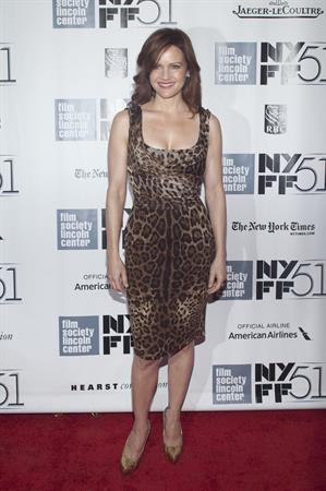 Carla Gugino  All Is Lost  Premiere at 51st New York Film Festival on Oct. 8, 2013