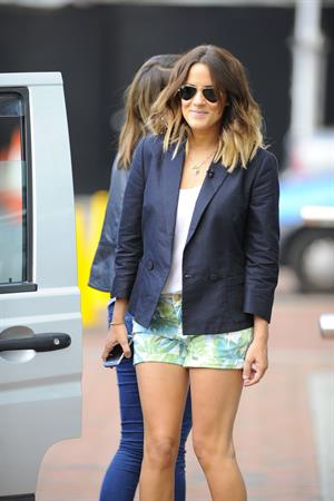 Caroline Flack Lowry Hotel in Manchester on June 4, 2012