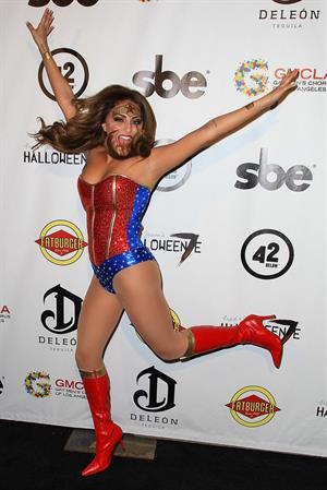 Cassie Scerbo - Halloweenie Charity Event 10/26/12