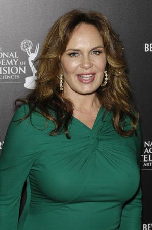 Catherine Bach attends 39th Annual Daytime Emmy Awards at The Beverly Hilton Hotel on June 23, 2012 in Beverly Hills, California