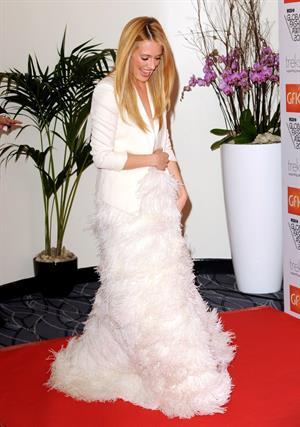 Cat Deeley WGSN Global Fashion Awards in London 11/5/12