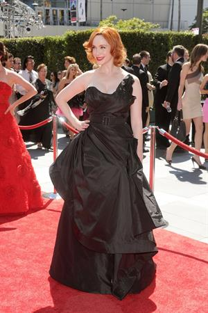 Christina Hendricks 62nd Creative Emmy Awards in Los Angeles on August 21, 2010