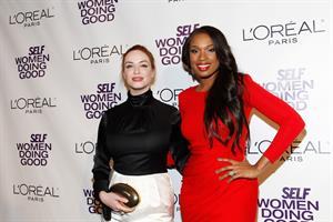 Christina Hendricks Self Magazines 4th annual Women Doing Good Awards in New York City on September 13, 2011