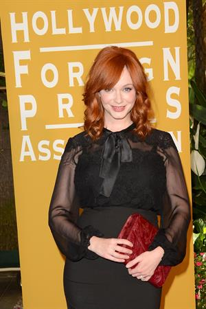 Christina Hendricks - The Hollywood Foreign Press Association Annual Installation Luncheon - August 9, 2012