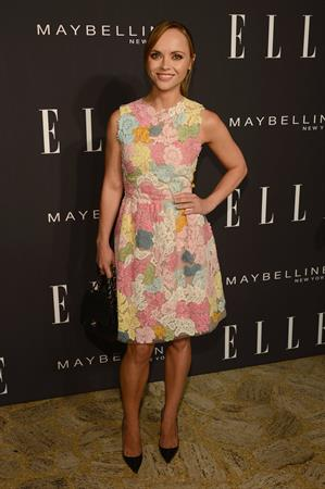 Christina Ricci - Elle Fashion during Spring 2013 Mercedes-Benz Fashion Week in New York - September 7, 2012