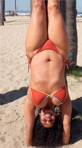 Tabria Majors in a bikini