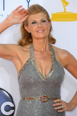 Connie Britton - 64th Primetime Emmys at the Nokia Theatre in LA, 23 September, 2012