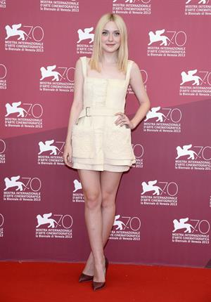 Dakota Fanning - Night Moves photocall VFF 8/31/13