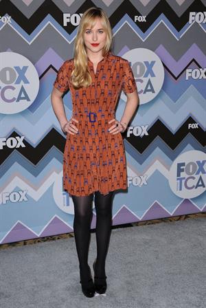 Dakota Johnson 2013 Winter TCA FOAll-Star Party, Pasadena - January 8, 2013