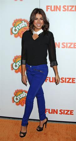 Daniella Monet Fun Size premiere in LA 10/25/12