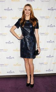 Danielle Panabaker Hallmark Channel TCA Winter Press Tour in Pasadena, January 4, 2013