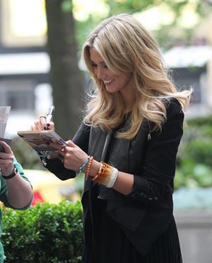 Delta Goodrem Arrives for ''The Project'' in Melbourne - November 5, 2012