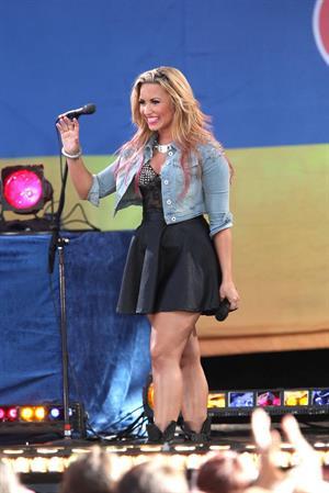 Demi Lovato -  Good Morning America  set in New York  -  6 July, 2012