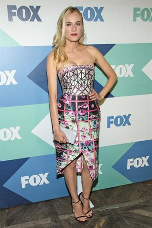 Diane Kruger Fox All-Star Party in West Hollywood 01.08.13