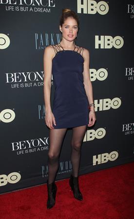 Doutzen Kroes  Beyonce: Life Is But A Dream  New York Premiere Feb. 12, 2013
