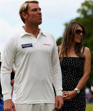 Elizabeth Hurley at Circenster Cricket Club in Cirencester- June 9, 2013