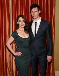 Emilia Clarke 'Breakfast At Tiffany's' Broadway press preview in NYC 2/27/13