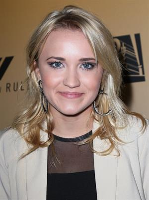 Emily Osment Family Guy 200th episode party in LA 11/2/12