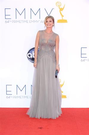 Emily VanCamp - 64th Primetime Emmys Nokia Theatre LA Sept 23, 2012