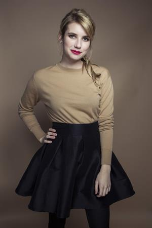 Emma Roberts Victoria Will Photoshoot on Friday in New York - October 19, 2012