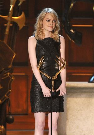 Emma Stone - Spike TV's 6th annual Guys' Choice Awards  -  2 June, 2012