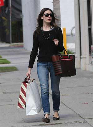 Emmy Rossum in Hollywood 1/23/13