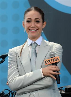 Emmy Rossum - Comic-Con day promoting 'Shameless' on July 14, 2012