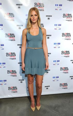 Erin Heatherton The Global Poverty Project 2013 Global Citizen Festival Press Conference, on July 12, 2013