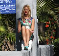 Erin Heatherton at a photoshoot in Miami 12/19/12
