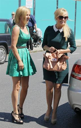 Geri Halliwell & Emma Bunton - Out And About In London 21.07.12