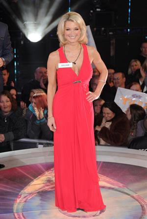 Gillian Taylforth - At 'Celebrity Big Brother' UK - Launch on January 3, 2013
