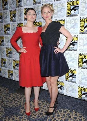 Ginnifer Goodwin at  Once Upon A Time  Press room at San Diego Comic-Con - July 14, 2012