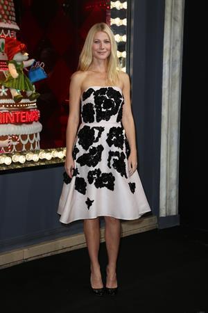 Gwyneth Paltrow Printemps Christmas Decorations Inauguration In Paris -- Nov. 7, 2013