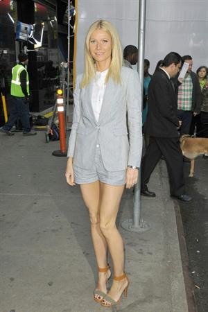 Gwyneth Paltrow at GMA Studios in NYC 4/10/13