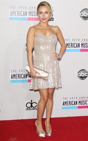 Hayden Panettiere American Music Awards (November 18, 2012)