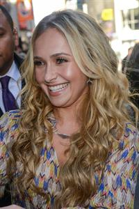 Hayden Panettiere leaves the  Good Morning America  taping October 16, 2012