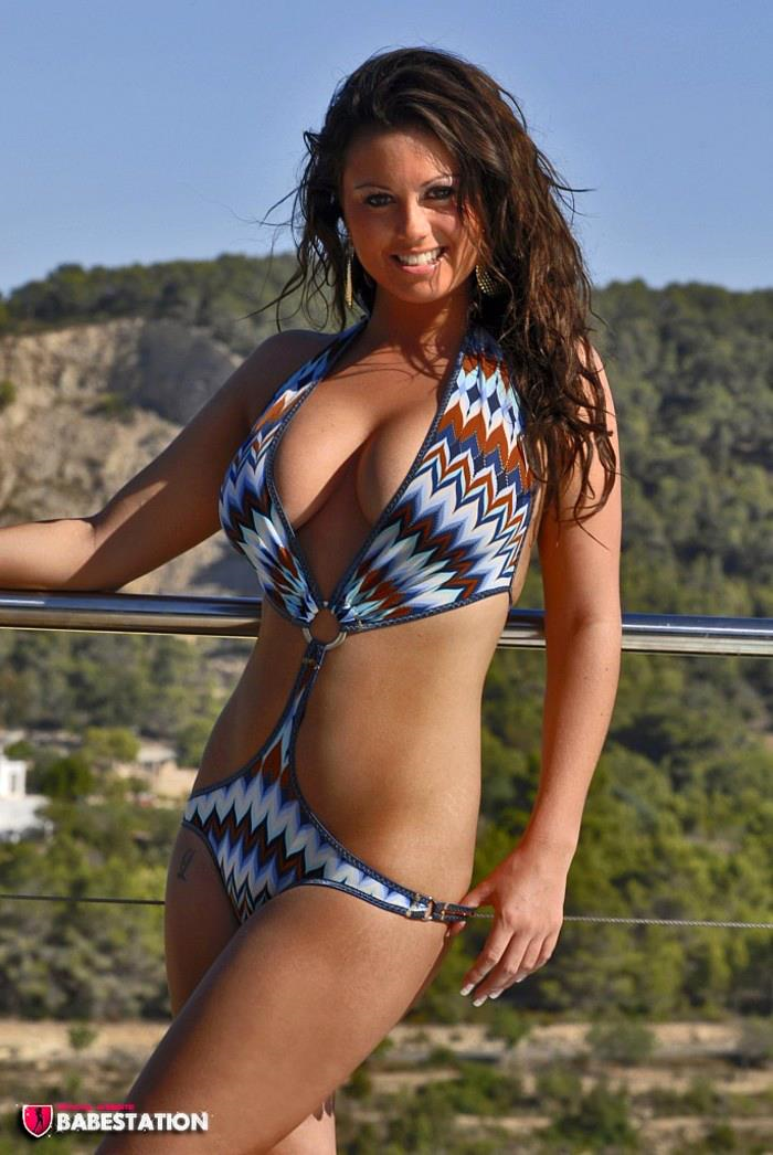 Kandi Kay in a bikini