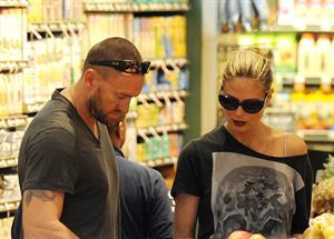 Heidi Klum Grocery shopping in Brentwood