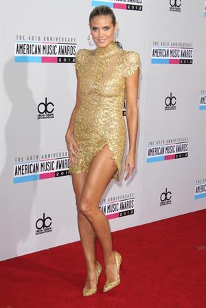 Heidi Klum American Music Awards (November 18, 2012)